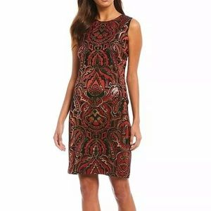 J McLaughlin NWT Belinda Metallic Dress Size 8